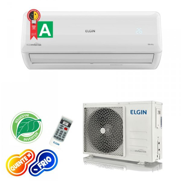 Ar Condicionado Tecnologia Inverter Elgin Quente e Frio 12.000 Btus