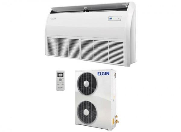 Ar Condicionado Split Piso Teto eco Elgin PEF 48000 Btus Frio Trifasico R-410 220V